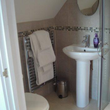 En-suite shower room attached to master bedroom